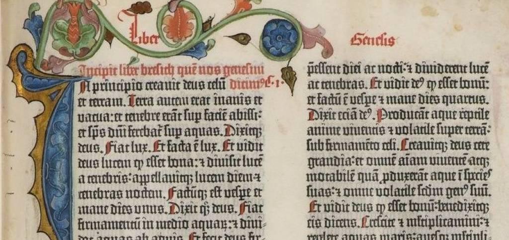 La Bibbia di Gutenberg, il primo libro stampato in Europa